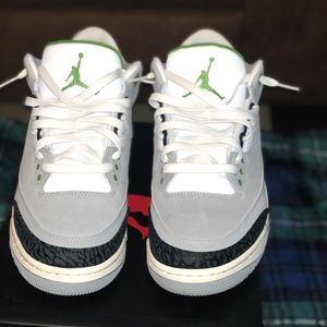 "Air Jordan retro 3 "" Chlorophyll """